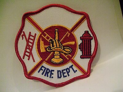 fire patch   FIRE DEPT     GENERIC PATCH