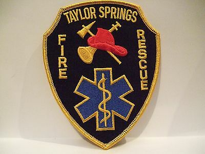 fire patch   TAYLOR SPRINGS FIRE RESCUE  ILLINOIS