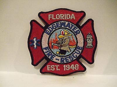 fire patch  EDGEWATER FIRE RESCUE FLORIDA