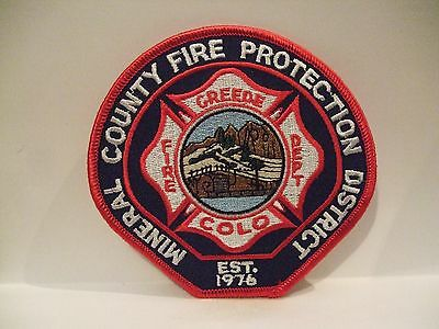 fire patch  MINERAL COUNTY FIRE PROTECTION DISTRICT  COLORADO