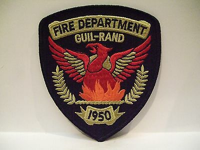 fire patch  GUIL-RAND FIRE DEPT NORTH CAROLINA