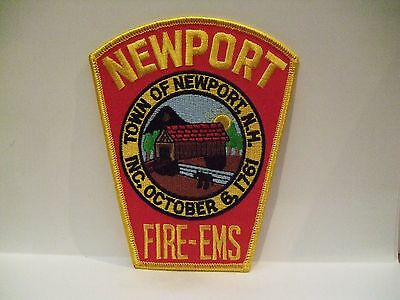 fire patch  NEWPORT FIRE EMS NEW HAMPSHIRE