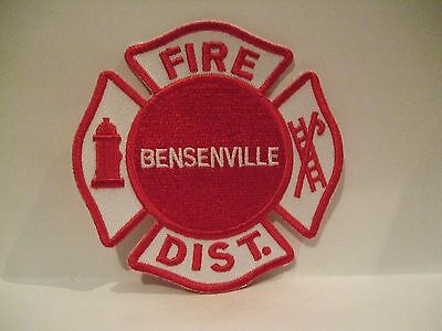 fire patch  BENSENVILLE FIRE DISTRICT  ILLINOIS