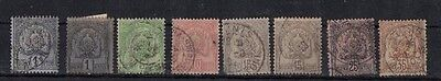 Tunisia , 1888, Small Used Type 2 Selection......