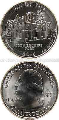 USA America Beautiful Quarter 2016 (P) UNC Harpers Ferry Nat. HP, West Virginia