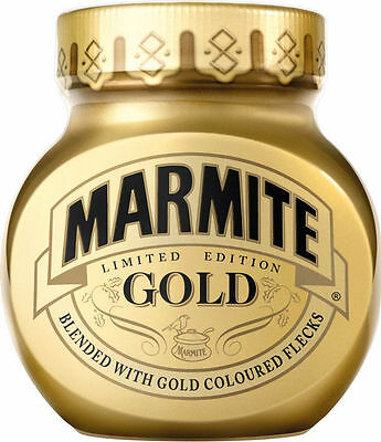 Rare Collectable Marmite Gold - Jar - Unopened - Limited Edition 250g