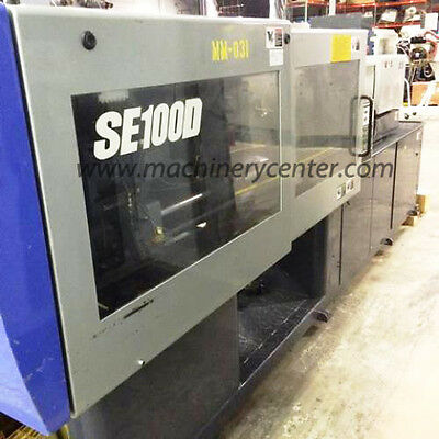 110 Ton, 1.5 Oz. Sumitomo Injection Molding Machine '03