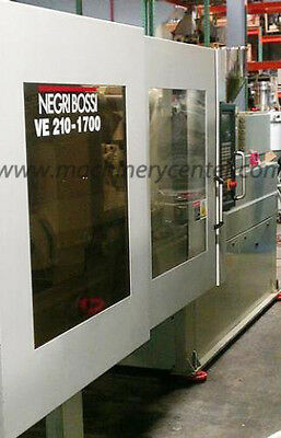 210 Ton, 15.2 Oz. Negri-Bossi Electric Injection Molding Machine '04