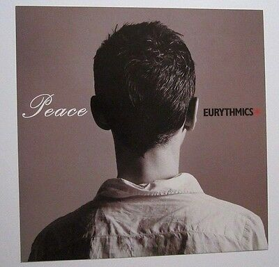 Eurythmics 1999 Promo Album Flat / Poster Peace