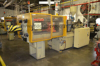 90 Ton, 5.6 Oz. Husky Injection Molding Machine '00