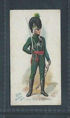 Players Old England's Defenders No 32 Rifle Corps 1800 Now Rifle Brigade