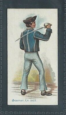 Players Old England's Defenders No 35 Seaman R.n. 1802