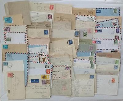 Gb Military & Censored Accumulation 100 Covers & Cards