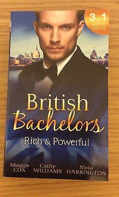 British Bachelors Rich & Powerful Mills & Boon 3 in 1 (Paperback 2016)