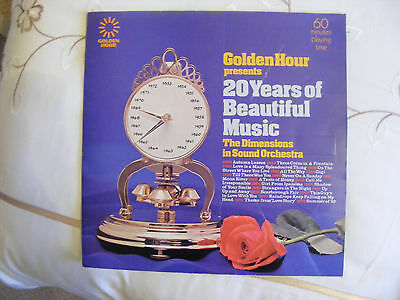 Golden Hour Presents 20 Yrs Of Beautiful Music. Dimensions In Sound Orchestra. V