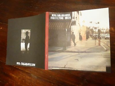 noel gallagher HIGH FLYING BIRDS tour book programme its never too late to be