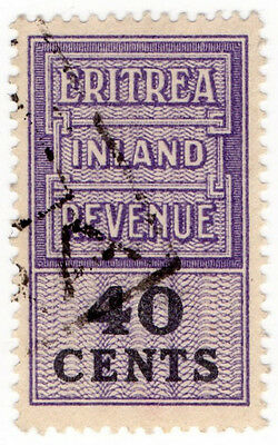 (I.B) BOIC (Eritrea) Revenue : Duty Stamp 40c