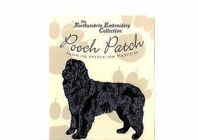 Newfoundland  EMBROIDERED  Pooch Patch