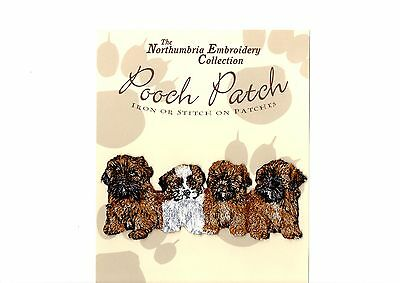 ShihTzu  EMBROIDERED  Pooch Patch