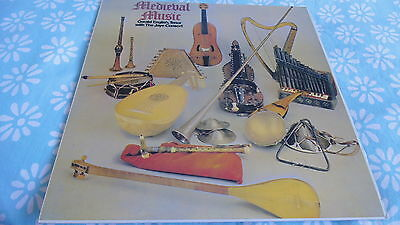 Gerald English , Tenor with the Jaye Consort ~ Medieval Music: PRT Reissue EX+