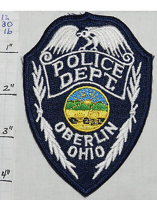 Ohio, Oberlin Police Dept Patch