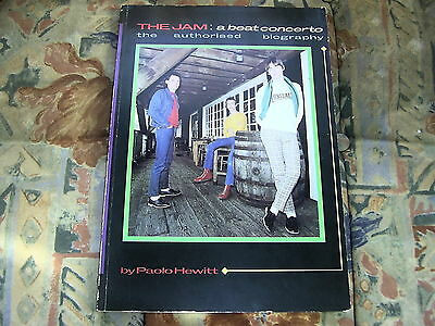 The Jam - A Beat Concerto - Paolo Hewitt - 1983 Soft Cover Biography /  Book