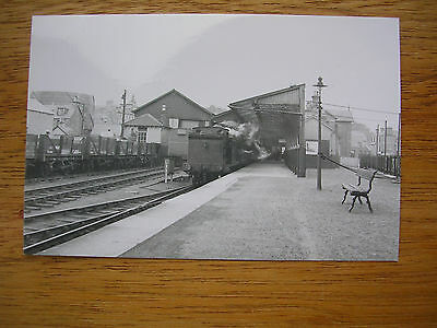 Blairgowrie Rly Station , Real Photo (Not Pc), Dundee Train At Platform 1952