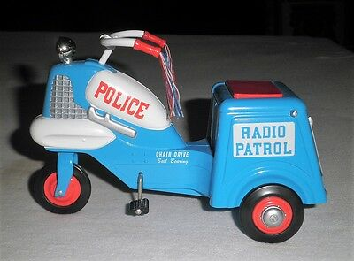 Hallmark Die Cast 1958 Murray Police Cycle Toy MIB