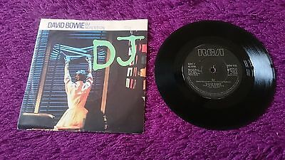 "David Bowie ‎– DJ ,  Vinyl, 7"", 45 RPM, Single, 1983 , Europe , BOW 516"