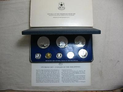1976 Philippines Proof Set - Franklin Mint Coins