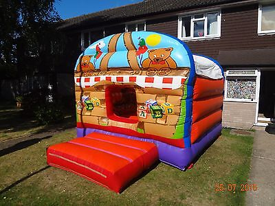Teddy Bears Picnic Bouncy castle 12ft x 12 ft used in good condition