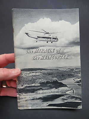 1961 Sikorsky Aircraft 44pg Publication - The Miracle of the Helicopter