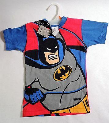 B609. BATMAN the Animated Series Children's T-Shirt Size 4 with Tags (1993) [