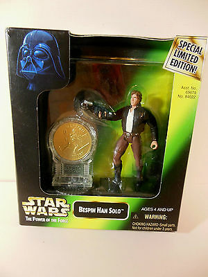 Star Wars Bespin Han Solo New Millennium Minted Coin collection by Kenner