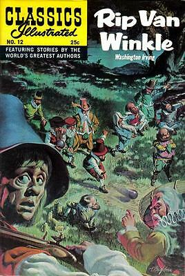 CLASSICS ILLUSTRATED #12 G, HRN #169, writing inside, Gilberton 1970