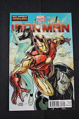 Iron Man #8 Dodson Variant Many Armors Of Incentive Variant Edition Cover  2013