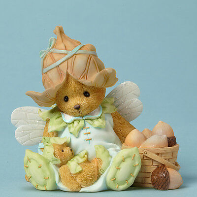 Cherished Teddies Your Friendship is a Bushel of Blessings Fairie Bear Figurine