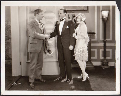 MARION DAVIES Matt Moore Harry Crocker 1927 TILLIE THE TOILER Vintage  Photo