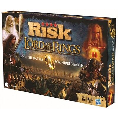 Lord of The Rings Risk Brand New