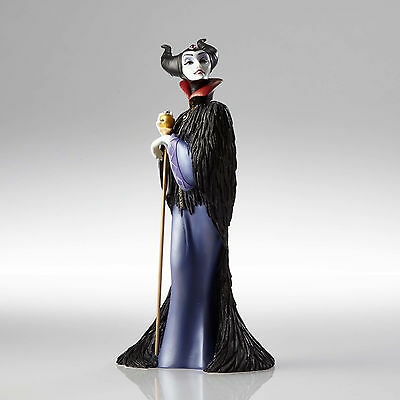 4057170 Disney Showcase Maleficent Art Deco Villain Sleeping Beauty Black Purple