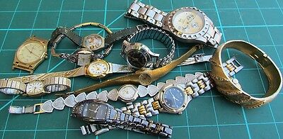 -12- Watches Most Work Some Do Not Work All are Used