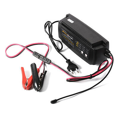 7 Stage Smart Battery Charger 12V 4A for Auto Car Van SUV Bike Motorcycle MA566