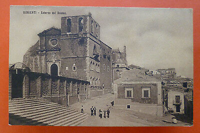 Early '900s Mint postcard from Girgenti/Agrigento, Sicily, Italy