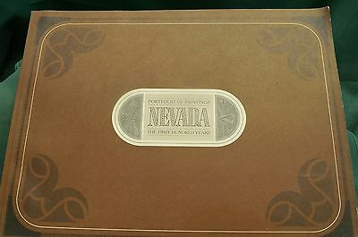 Nevada: The First 100 Years  A portfolio of paintings