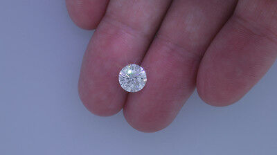 1.70 Carat F Color VS2 Clarity Enhanced - Round Brilliant Loose Diamond #D3474