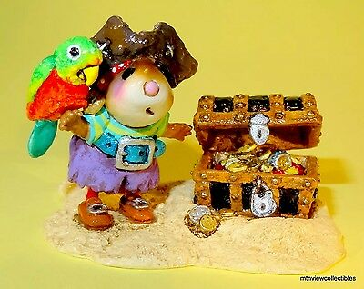 Wee Forest Folk M-398a Pirate's Treasure-RETIRED, Last One!