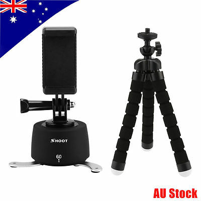 360° Rotating Time Lapse Stabilizer+Tripod Stand+Phone Clip f GoPro 6 5S 5 4S 4
