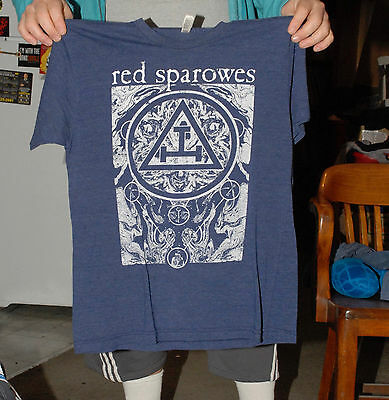 Red Sparrows T Shirt Post Rock Indie Ambient Jesu L American Apparel