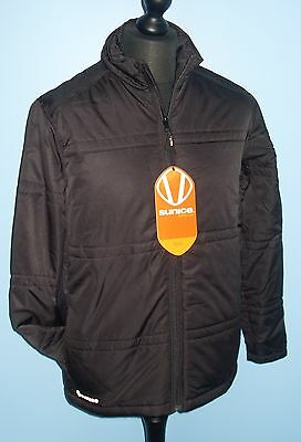 """Sunice Golf Mlo5 Lightweight Quilted Jacket Black Small 36"""""""