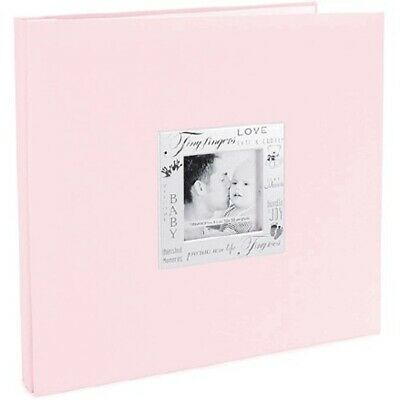 12x12 Baby Girl Pink Scrapbooking Photo Album MBI Words of Expressions